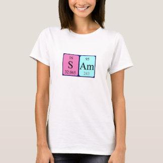 Sam periodic table name shirt