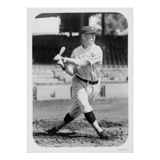 Sam Rice Senators Baseball 1925 Poster