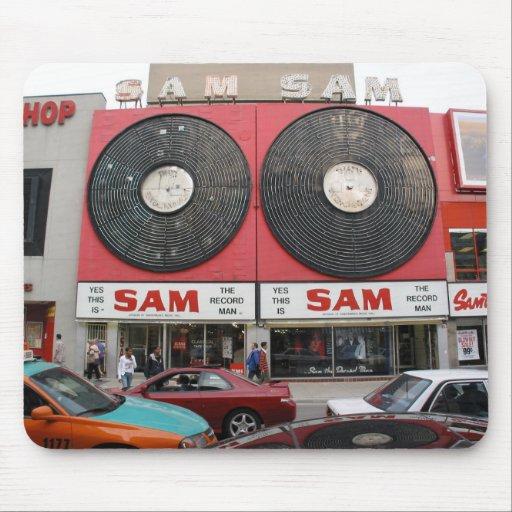 Sam The Record Man Mousepad