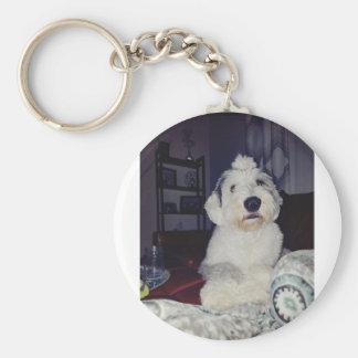 Sam the Sheepdog Key Ring