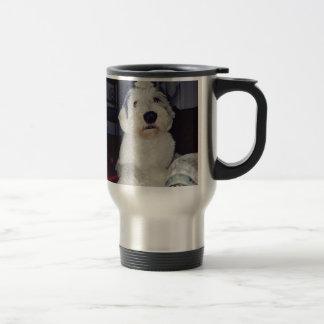Sam the Sheepdog Travel Mug