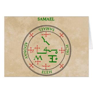 samael card