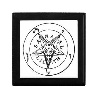 Samael Lilith Goat Pentagram Gift Box