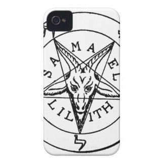 Samael Lilith Goat Pentagram iPhone 4 Cover