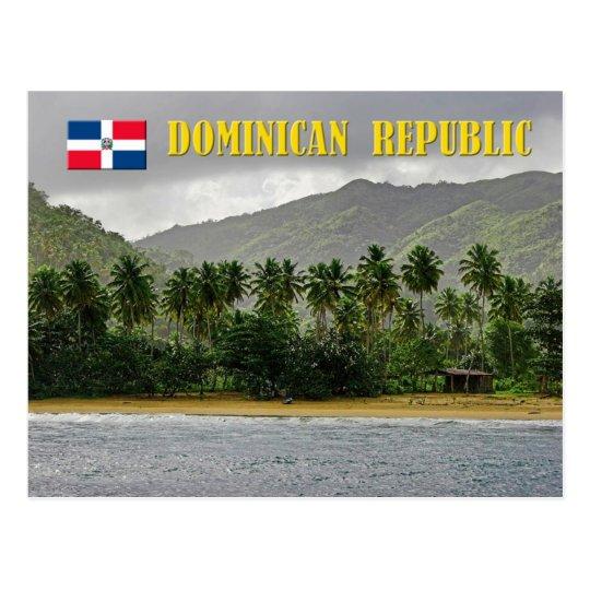 Samana Beach, Dominican Republic Postcard