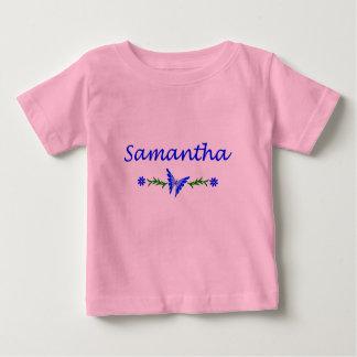 Samantha (Blue Butterfly) Baby T-Shirt