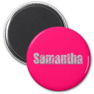 Samantha fridge magnet