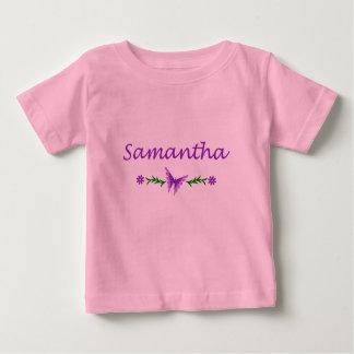 Samantha (Purple Butterfly) Baby T-Shirt