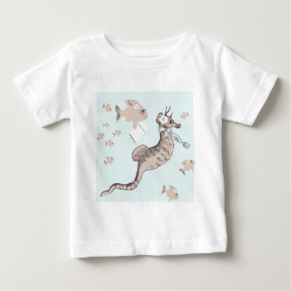 Samantha Sea  Horse Lessons Baby T-Shirt
