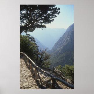 Samaria Gorge, Crete Poster