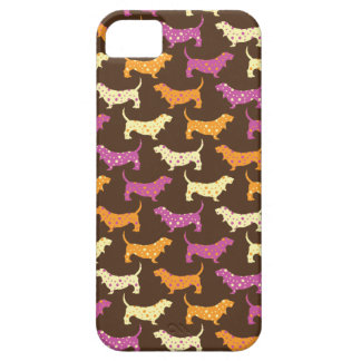 Samba Bassets iPhone 5 Case
