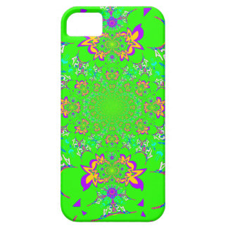 Samba Colorful Bright floral damask design colors iPhone 5 Cases