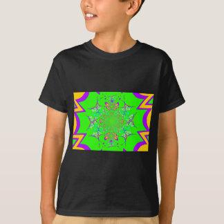 Samba Colorful Bright floral damask design colors T-Shirt