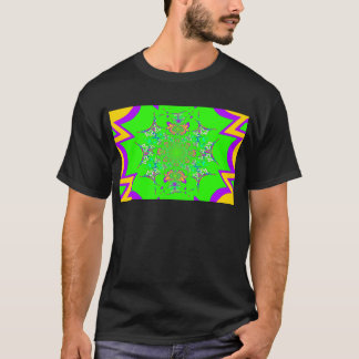 Samba Colorful Bright floral damask design colors T-Shirt