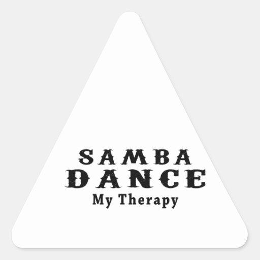 Samba Dance My Therapy Triangle Stickers