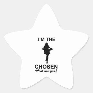 samba dance star sticker