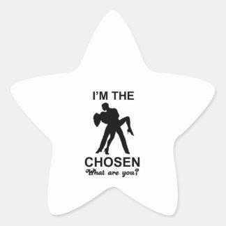 samba design star sticker