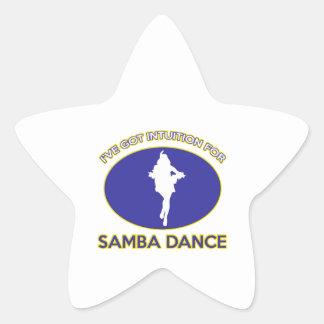 samba  design sticker