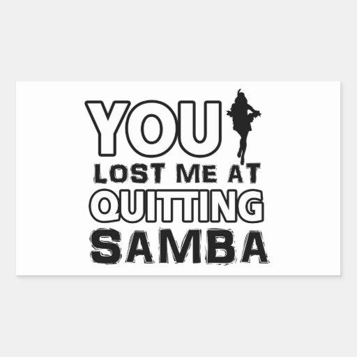 Samba designs will make a great gift item stickers