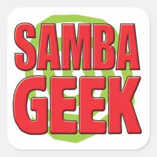Samba Geek Square Sticker