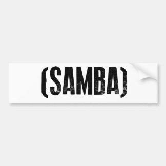 samba mood bumper sticker