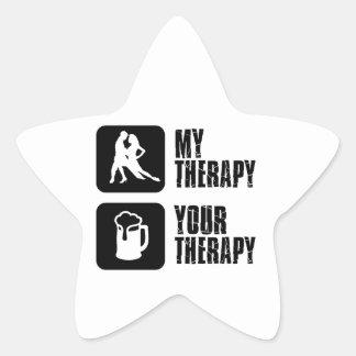 samba my therapy designs star sticker