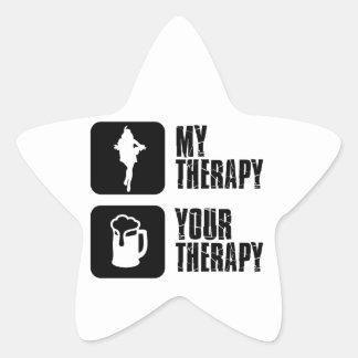 samba my therapy star sticker