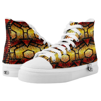 """Samba Salsa"" High Top Sneakers"
