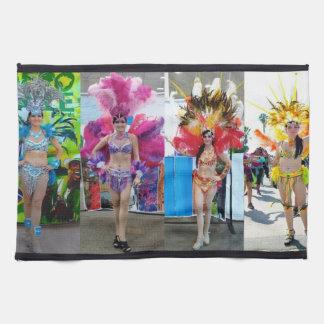 samba showgirl dancer acro choreo life tea towel