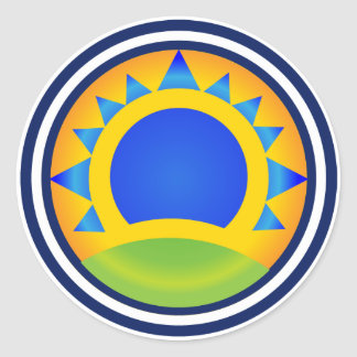 Samba Sunrise - sticker