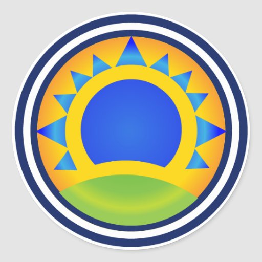 Samba Sunrise - sticker