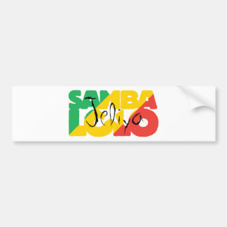 SambaLolo Jeliya sticker Bumper Sticker