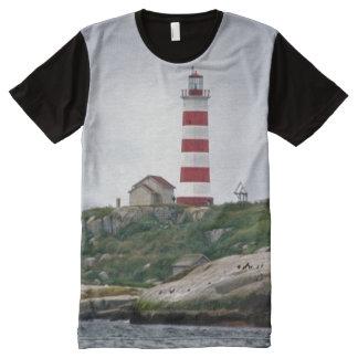 Sambro Island Lighthouse All-Over Print T-Shirt