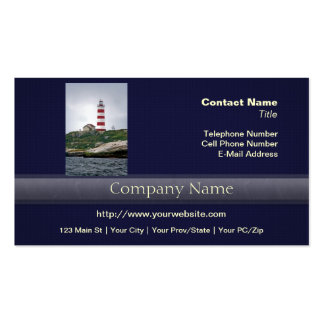 Sambro Island Lighthouse Pack Of Standard Business Cards
