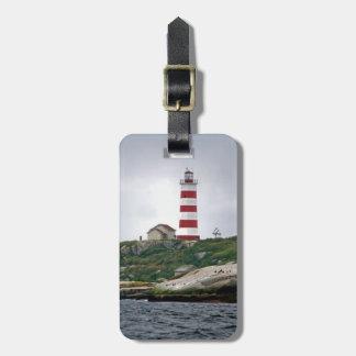 Sambro Island Lighthouse Luggage Tag