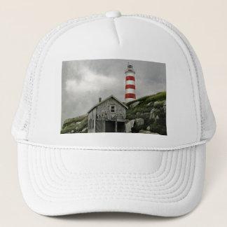 Sambro Lighthouse, Sambro Island, Nova Scotia Trucker Hat