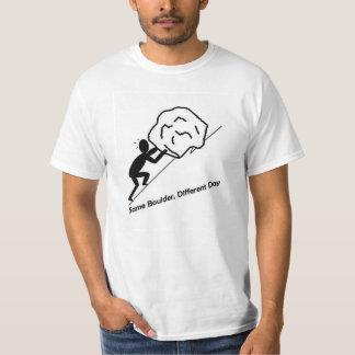 Same Boulder, Different Day T-Shirt. T-Shirt
