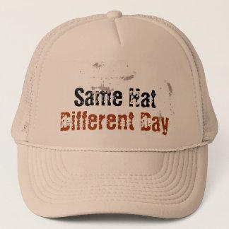 Same Hat, Different Day Trucker Hat