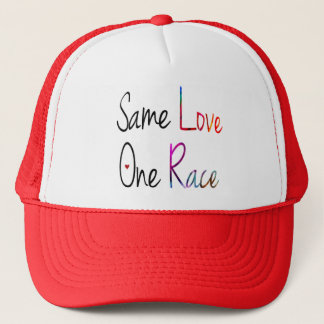 Same Love, One Race Hat