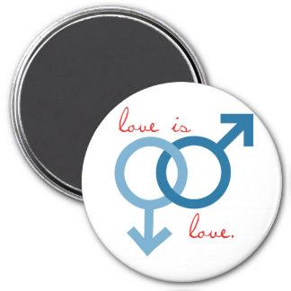 Same-Sex Love (Male) Refrigerator Magnet