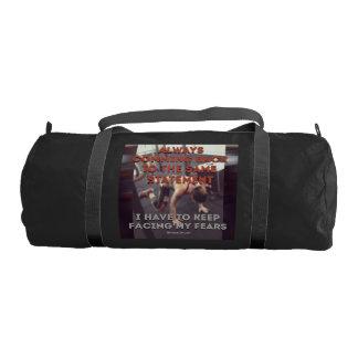 Same statement gym duffel bag