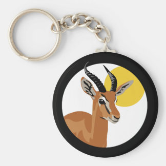 Samer the Gazelle Key Ring