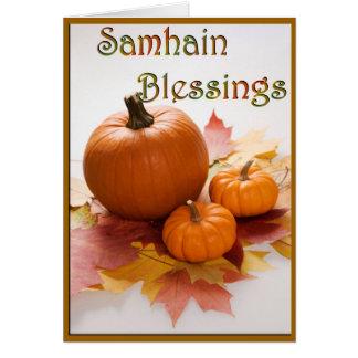 Samhain Blessings Card