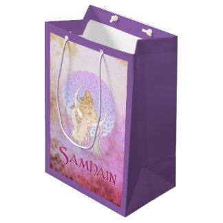 Samhain Greetings Lunar Goddess Medium Gift Bag