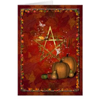 Samhain/OldeHallowmas/Martinmas Card