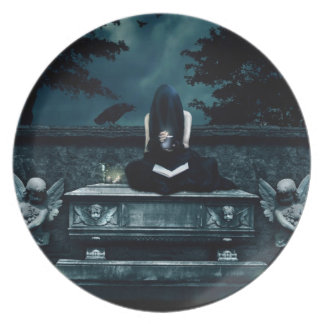 Samhain Ritual Plate