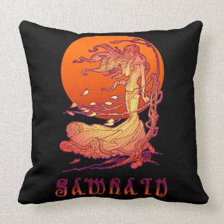 Samhain Throw Pillow