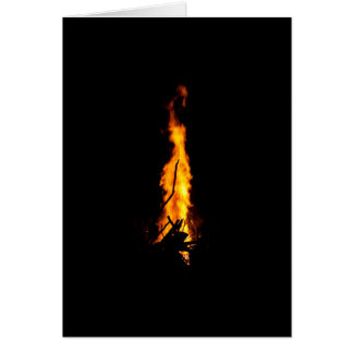 Samhain Veil Fire Greeting Card