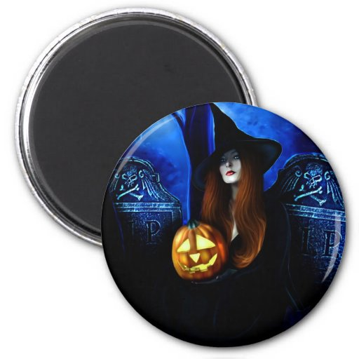 Samhain Witch Magnet