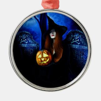 Samhain Witch Ornament